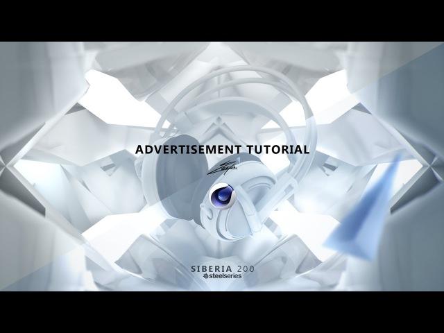 Advertisement Tutorial (C4D part) [FR]