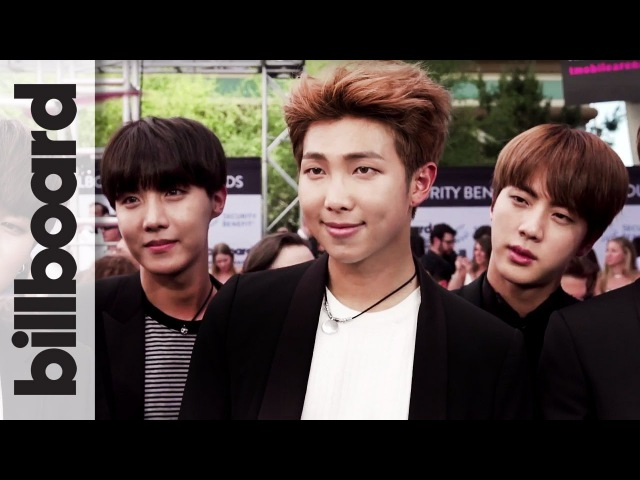 BTS K-Pop Band on Their Incredible Fan Support First BBMA | Billboard Music Awards 2017