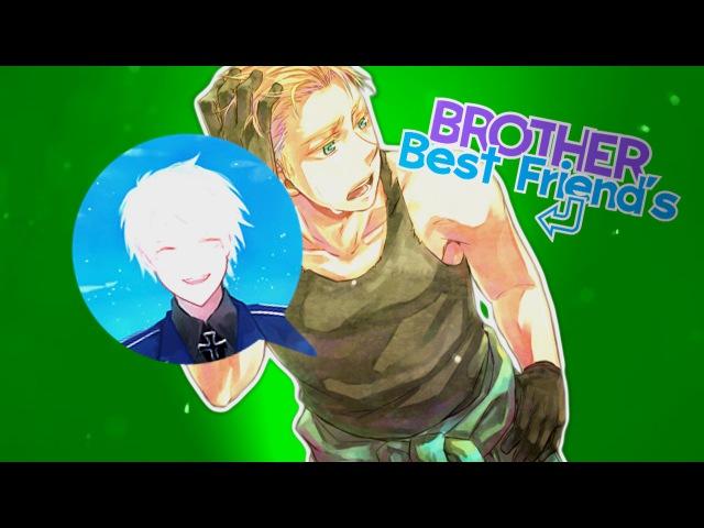 [APH] PruIta || Best Friend's Brother