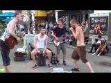 Голос - Шикарный блюз от уличных музыкантов!