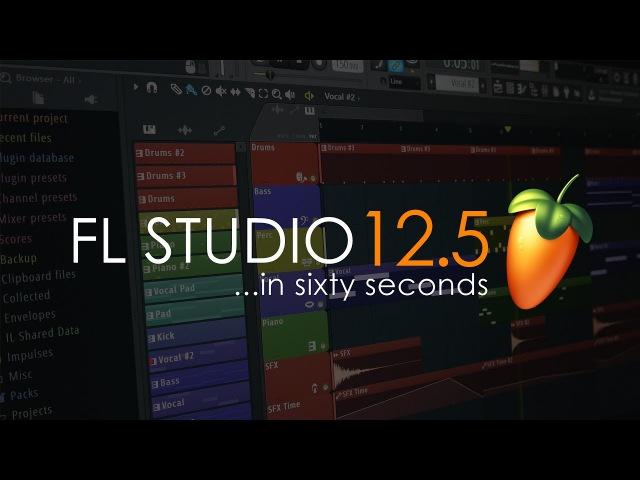 FL Studio 12.5   In A Minute