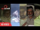 Aishwarya Rai Bachchans father Krishnaraj Rais funeral Shahrukh Khan, Amitabh, Aishwariya