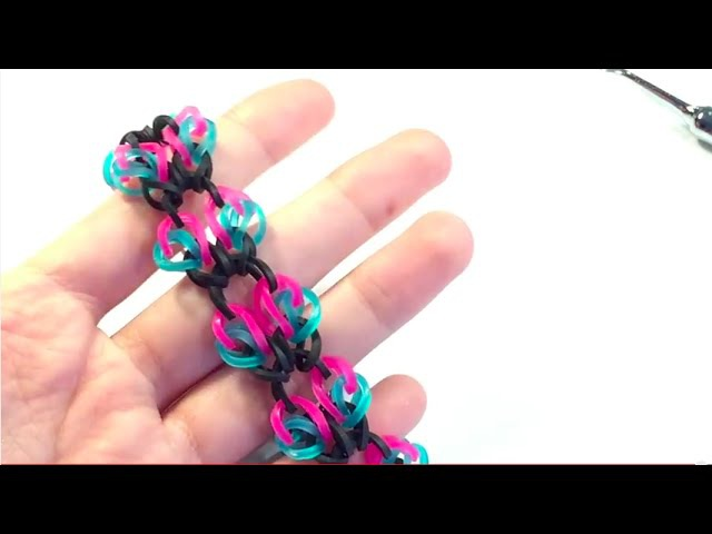 Pixie Dust Bracelet | Rainbow Loom | Hook Only