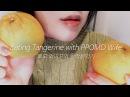 ASMR Korean WAIFU RP EATING TANGERINE 🍊(SUB)신혼롤플과 한라봉이팅