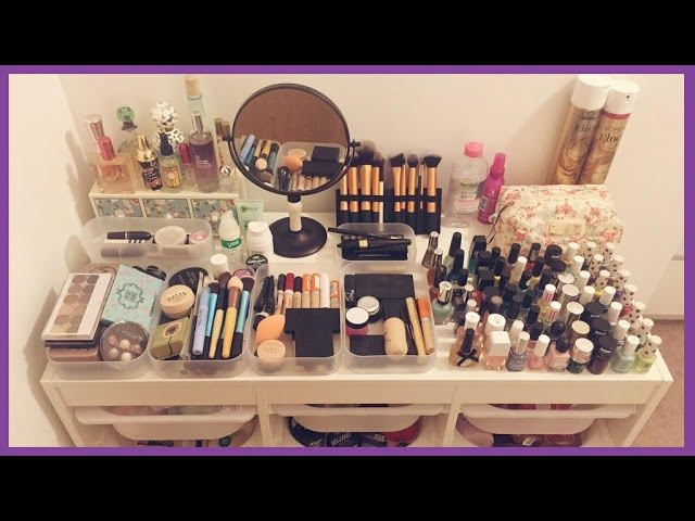 Makeup Collection/Storage | boxes of foxes