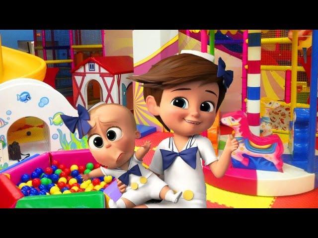 THE BOSS BABY IGROLAND МАЛЕНЬКИЙ БЭБИ БОСС Михей в ИГРОЛЕНДЕ Mikhey's Channel Видео для детей