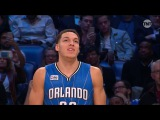 Aaron Gordon Goes Between the Legs for the Nasty Dunk with the Drone Assist!