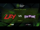 LFY vs EHOME.K, Game 2, Boston Major CN Qualifiers