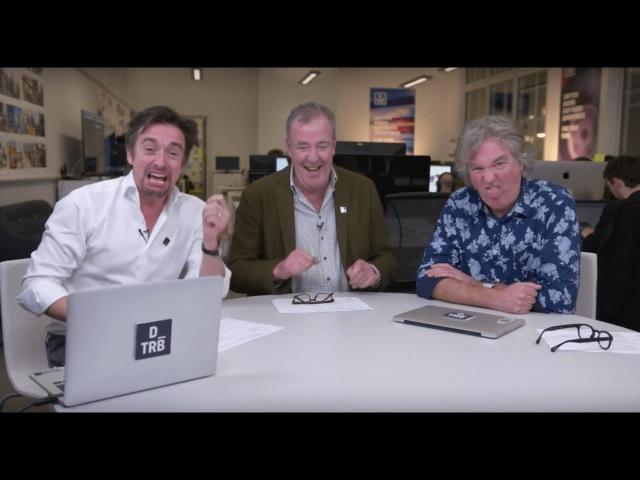 Jeremy Clarkson, Richard Hammond and James May launch DRIVETRIBE LIVE