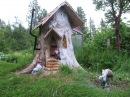 Gnome stump home