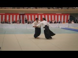 Fujimaki Hiroshi (藤巻 宏) Shihan - 55th All Japan Aikido Demonstration 2017