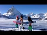 Вот за что я люблю зиму и сноуборд, ну и немного лыжников)