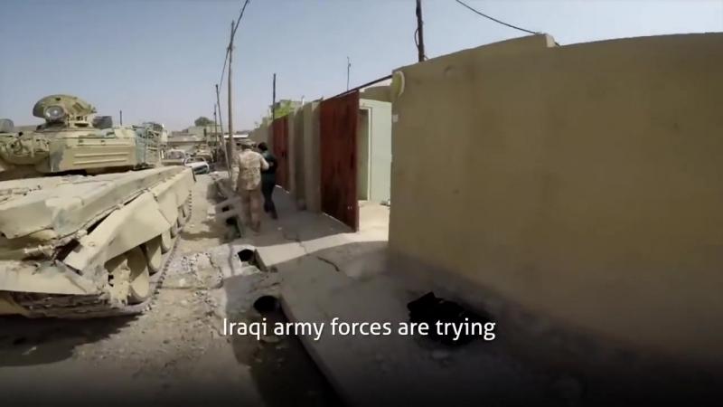Ирак.Июнь 2017.Репортаж из Front Line из осажденного Мосула
