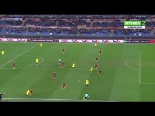 Рома 0:1 Вильяреал   Гол Борре