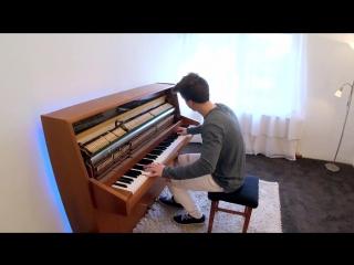 Ed Sheeran - Shape of You (Piano cover by Peter Buka) парень классно сыграл на пианино