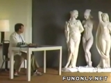Naked girl statue candid camera video Funny videos Fun only