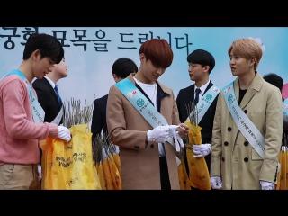 [Видео] 170405 ДжейБи, Джинён и Ёнджэ @ DongA Media