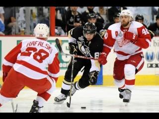 НХЛ 2008-2009. Финал. Питтсбург Пингвинз - Детройт Ред Уингз 4-2  (Игра 4)