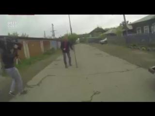 Корреспондент в Красноярске случайно нашел портал в ад