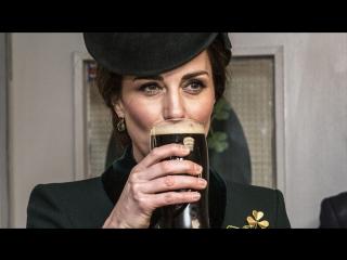 Герцог и герцогиня Кембриджские выпили пива