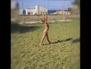 Что делает на море гимнастка. Ч.2