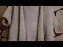 Мое вязание.Простой кардиган и снуд спицами.