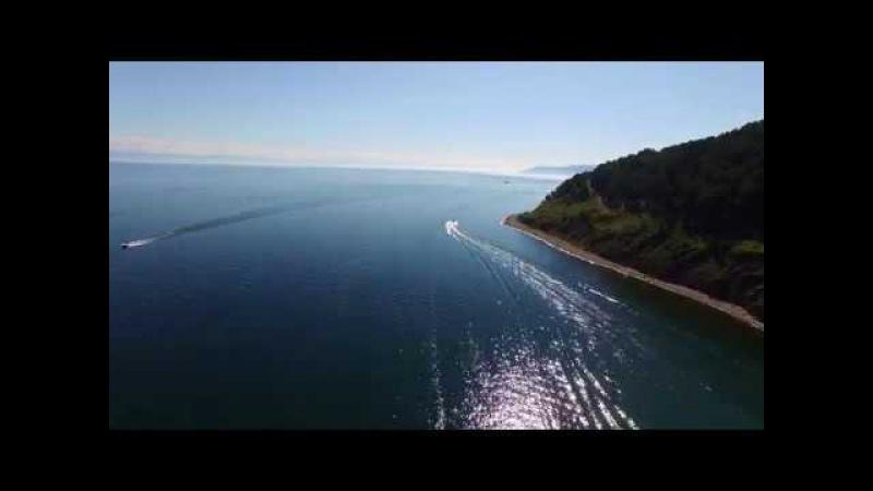 Lake Bajkal July 2017 Озеро Байкал с квадрокоптера