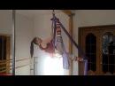 Воздушная гимнастика на полотнах. Урок 8. Крыло бабачки./Aerial silks. Lesson 8.