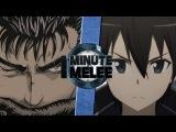 One Minute Melee S5 EP4 - Guts vs Kirito (Berserk vs Sword Art Online)