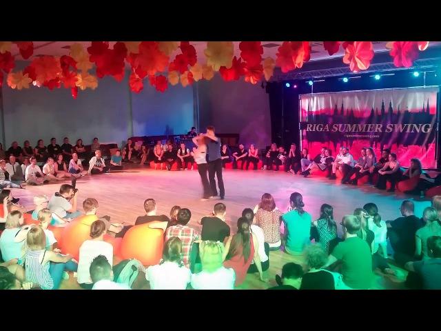 Konstantin Baranov Olga Malafeevskaya - 1st place Open Strictly - RSS 2017