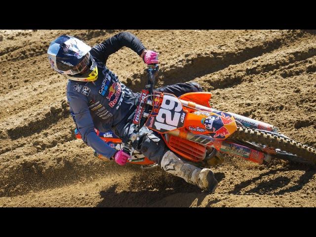 Racer X Films: Sean Cantrell Helmet Cam at Pala Raceway