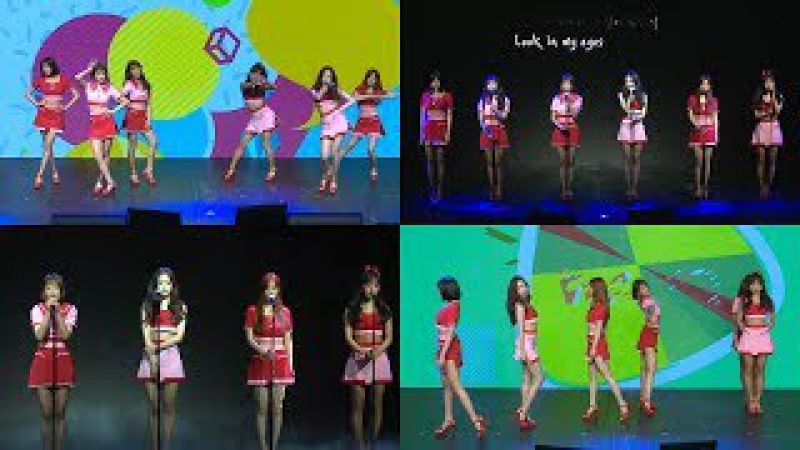 Apink(에이핑크) 'FIVE' 'Eyes' Showcase Stage (Pink UP, 쇼케이스)