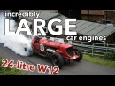 10 Stunning Cars With Incredibly Large Engines