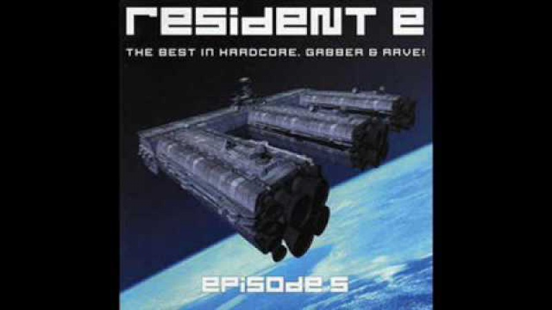 RESIDENT E 5 (V) [FULL ALBUM 147:23 MIN] BEST HARDCORE, GABBER RAVE HD HQ HIGH QUALITY 2001