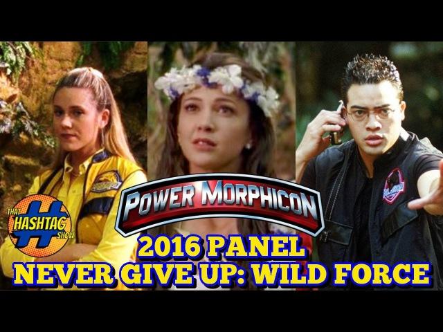 Power Rangers Wild Force Panel | Power Morphicon 2016 | Morphin' Monday