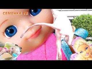 Мультики куклы Барби, Челси и дочка: Мама, купи мне кота! видео для детей шоу игры Barbie