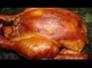 Горячее Копчение Курицы и Сала в Самодельной Коптильни Сделанной Своими Руками