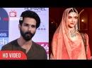 Shahid Kapoor About Flim Padmavati Sanjay Leela Bansali Deepika Padukone
