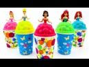 Сюрпризы из пластилина Плей До и много конфет. Сюрпризы Барби и другие игрушки. ...