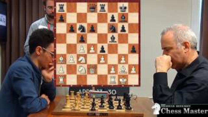 ИДЕАЛЬНАЯ АТАКА Каспарова против чемпиона США Фабиано Каруана Шахматы