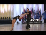 US Open Swing Dance Championships Cabaret Champions 2016, Maria Wheeler and Alyenendrov Tsorokean