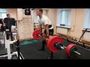 Становая тяга на массу и силу . 195 кг на 4 раза и 130 кг на 12 раз