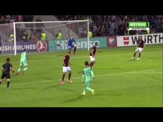 Латвия 0:1 Португалия | Гол Роналду