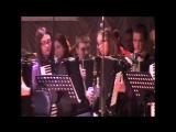 Сводный оркестр баянистов и аккордеонистов на VIII Всероссийском дне баяна, аккордеона и гармоники в Белгороде.