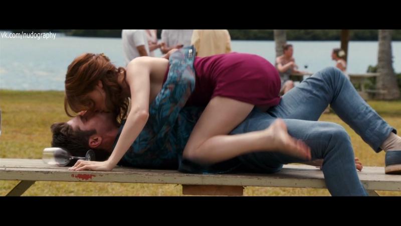 Поцелуи на столе - Анна Кендрик (Anna Kendrick) - Свадебный угар (Mike and Dave Need Wedding Dates, 2016) 1080p