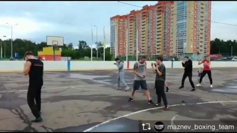 👉🏻Как это было.. Maznev Boxing Team/Schelkovo Runn... Москва 05.07.2017