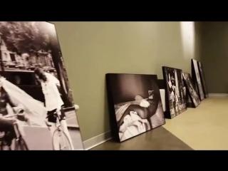Рома Зверь - подготовка фотовыставки в Эрарте