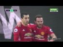 Лестер 0 1 Манчестер Юнайтед гол Мхитарян