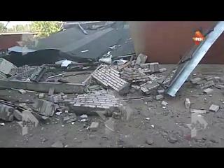 Взрыв в гаражном комплексе