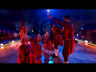 Танцы со звездами на ВВС под Skye boat song